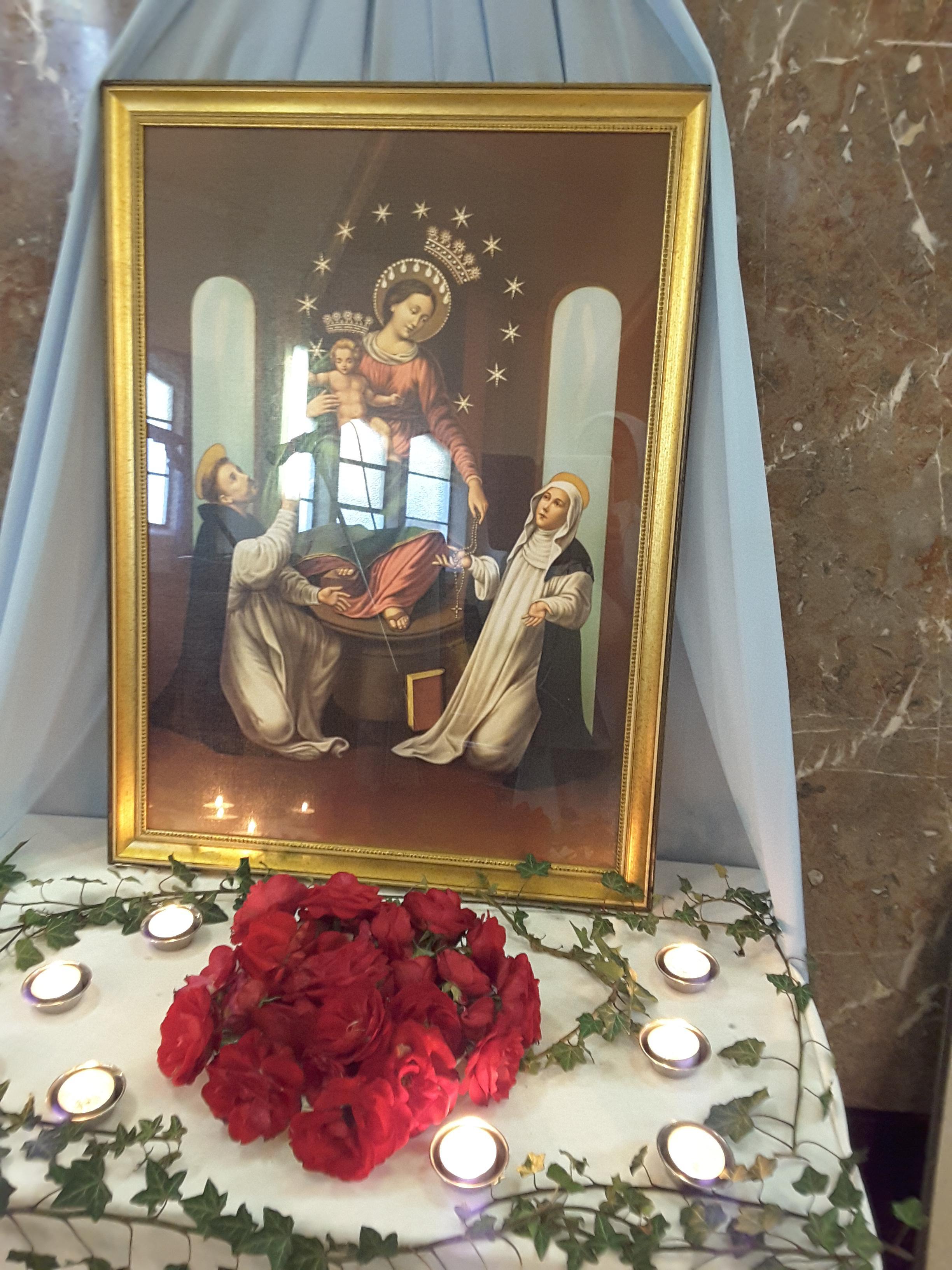 Vierge pèlerine 2018
