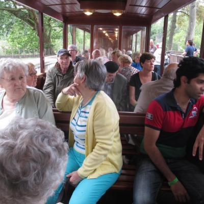 Excursion à PAIRI DAIZA (06/09/2016)